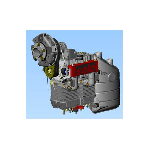SOLO Aircraft Engine 2350 C